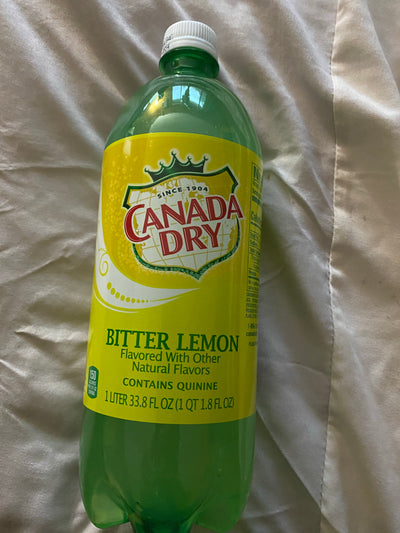 Bitter Lemon ( contains quinine)