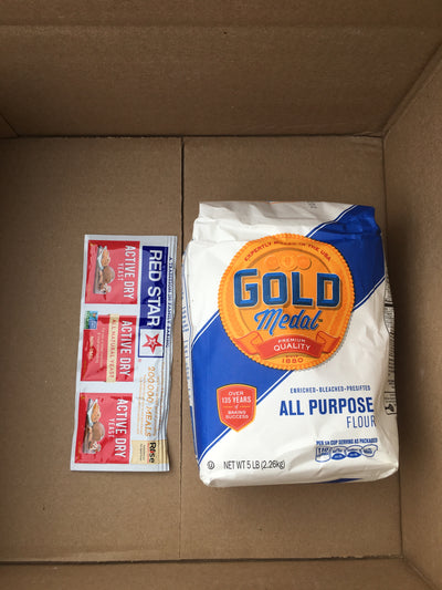 Gold Medal All Purpose Flour and Red Star Active Dry Yeast, Free Shipping