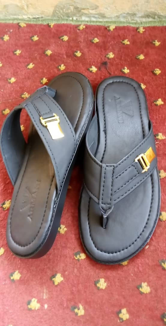 Leather Palm Slippers