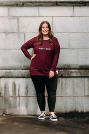 Active Longsleeve - Deep Plum