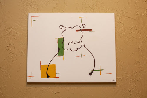 Hippopotamus Canvas
