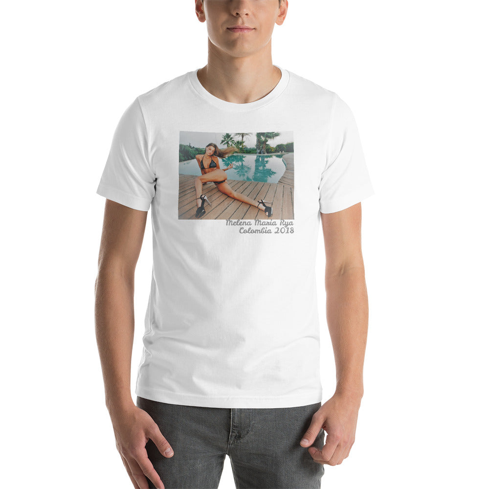 "Short-Sleeve Unisex T-Shirt ""Poolside"""