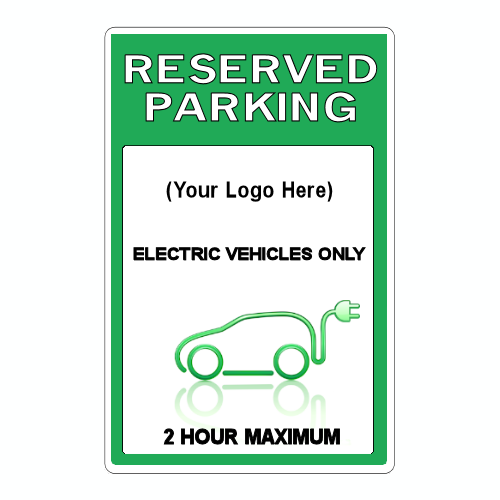 Custom Electric Vehicle Stall Signage Electrified Stall Retro Design