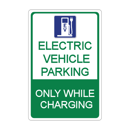 Electric Vehicle Stall Signage