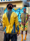 Golden Kwahu Bomber Jacket