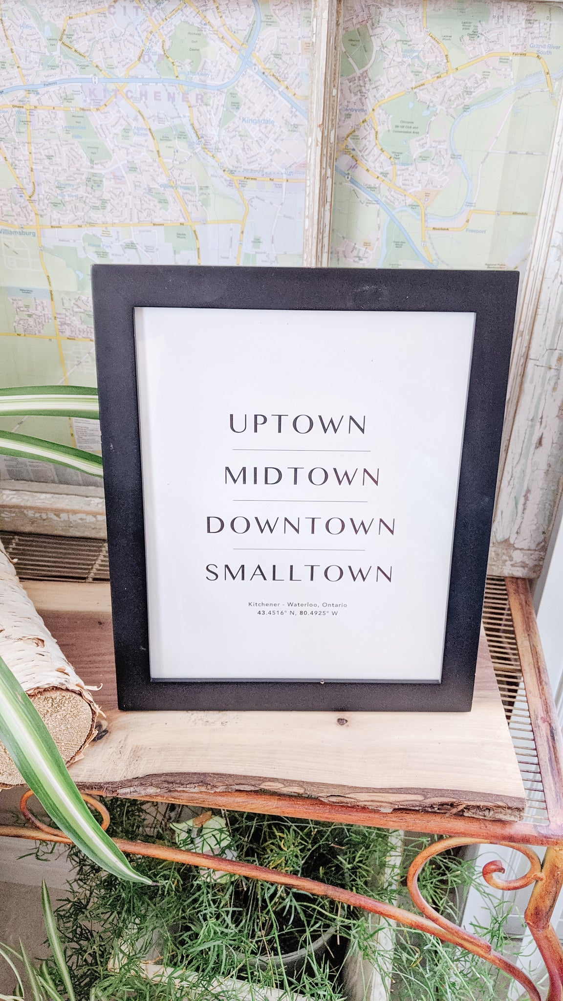 All the Towns Print