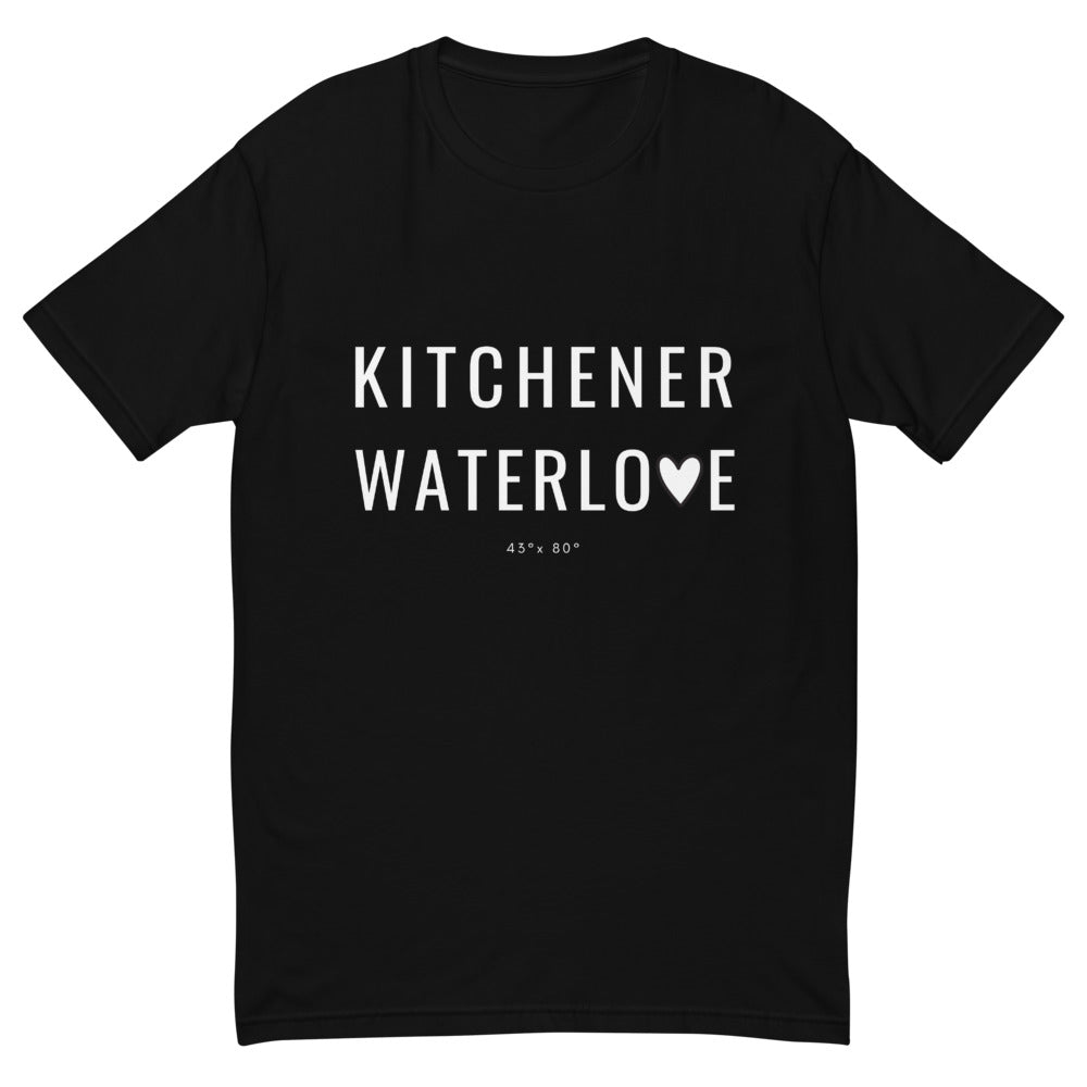 Kitchener Waterlove T-shirt Black