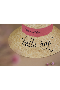 Delice_WOL_Belle Ame, Limited Edition, Raffia hat, Eco luxury