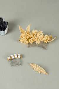 Reflective Pace - Resort 2020, Eco luxury, Cerutia hair clip