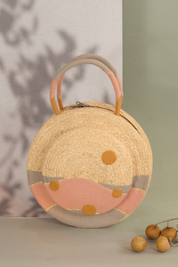 Clémentine bag, Formscape, Raffia bag, Eco-luxury