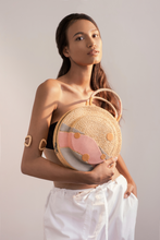 Load image into Gallery viewer, Clémentine bag, Formscape, Raffia bag, Eco-luxury