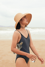 Load image into Gallery viewer, Clémentine hat, Formscape, Raffia hat, Eco-luxury