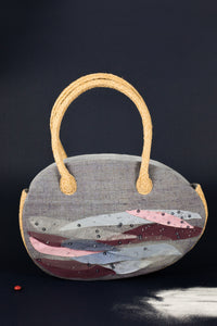 Reflective Pace - Resort 2020, Eco luxury, Lalaland hand bag, eco linen
