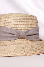 Load image into Gallery viewer, Daisy hat, Sun hat, Jardin D'été, Eco Luxury, Raffia hat