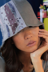 Lalaland hat, Bucket hat, Reflective Pace - Resort 2020, Eco linen, Eco luxury