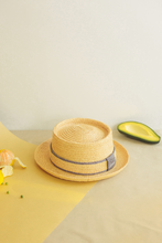 Load image into Gallery viewer, Raffia, Hat, Merlier Coast Urban Hat, Leinné Gourmandise, Eco-luxury
