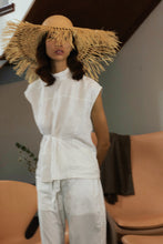 Load image into Gallery viewer, Soleil hat, Sun hat, Reflective Pace - Resort 2020 Raffia hat, Wide brim hat, Eco luxury