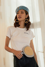 Load image into Gallery viewer, Reflective Pace - Resort 2020, Eco luxury, Jewellery, Ivy hoop-drop earrings