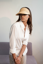 Load image into Gallery viewer, Tender Cap, Eco-luxury, Raffia hat