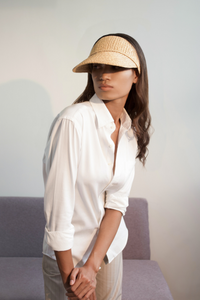 Tender Cap, Eco-luxury, Raffia hat