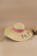 Load image into Gallery viewer, Riviera_WOL_Bình Yên, Limited Edition, Raffia hat, Eco luxury