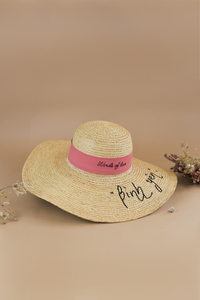Riviera_WOL_Bình Yên, Limited Edition, Raffia hat, Eco luxury