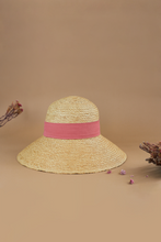 Load image into Gallery viewer, Delice_WOL_Belle Ame, Limited Edition, Raffia hat, Eco luxury