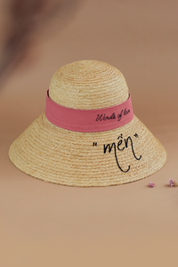 Delice_WOL_Mến, Limited Edition, Raffia hat, Eco luxury