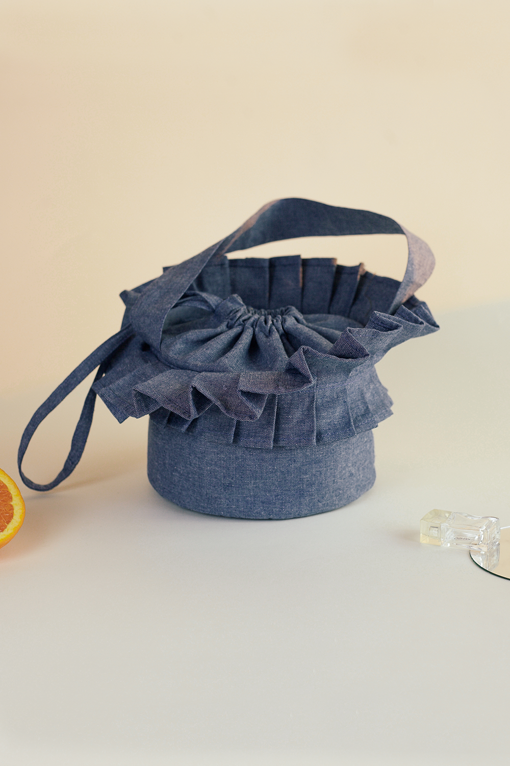 Origami lunch bag, Everyday cool objects, Refinity by Leinné, Upcycled Fabrics, Eco luxury