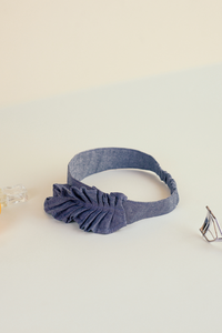 Origami bandeau, Everyday cool objects, Refinity by Leinné, Upcycled Fabrics, Eco luxury