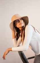 Load image into Gallery viewer, Leinné Lu hat, Bucket hat, Ecoluxury hat, Hatmaker Vietnam, designer hat
