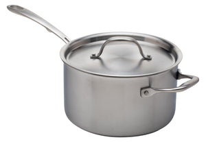 Stainless Steel Saucepan, 4-Quart