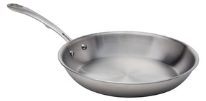 Stainless Steel Frying Pan, 10-Inch