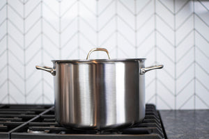Stainless Steel 8-Qt Stockpot