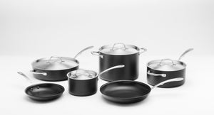 10-Piece Hard Anodized Nonstick Set