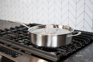 Stainless Steel 4-Qt Saute Pan