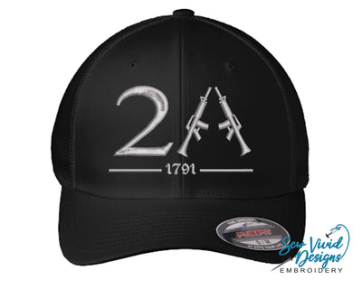 2A (Second Amendment) FlexFit Hat - Sew Vivid Designs