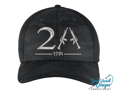 2A (Second Amendment) New Era Hat - Sew Vivid Designs