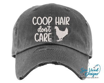 Coop Hair Don't Care Hat Farm Cap