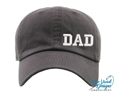 Dad Hat | Classic Baseball Cap - Sew Vivid Designs