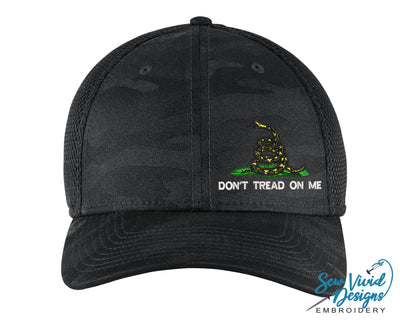 Gadsden Flag w/ Don't Tread on Me New Era Hat - Sew Vivid Designs