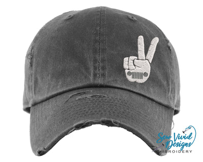 The Wave Hat | Baseball Cap OR Ponytail Hat - Sew Vivid Designs