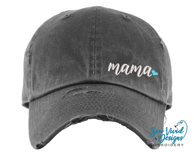 Mama Baseball Cap OR Ponytail Hat - Sew Vivid Designs