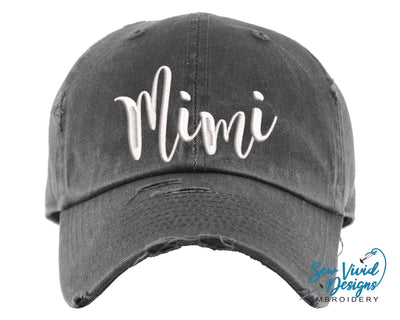 Mimi Baseball Cap OR Ponytail Hat - Sew Vivid Designs