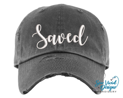 Saved Hat | Baseball Cap OR Ponytail Hat - Sew Vivid Designs