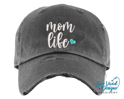 mom life hat for women baseball cap
