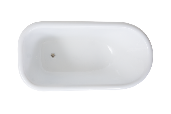 Rustic 1370 - Roll Top Cast Iron Bath