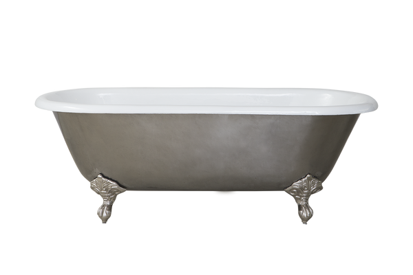 Polished Cast Iron Bath