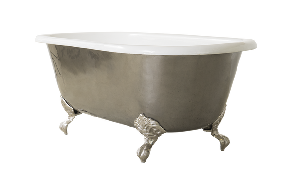 Highly Polished Cast Iron Bath