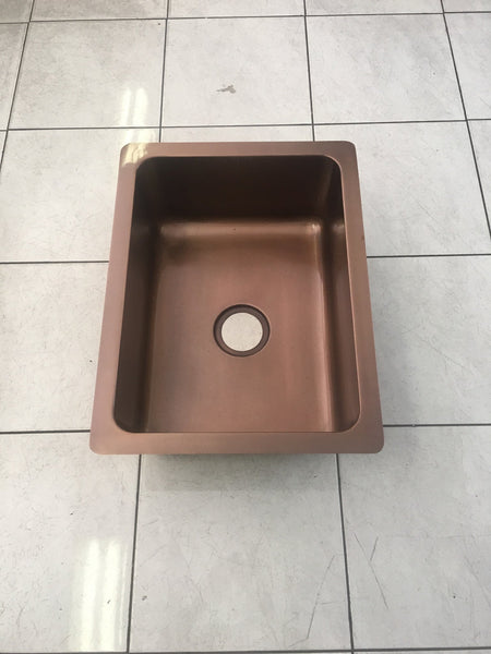 Copper Undermount Sink - Large